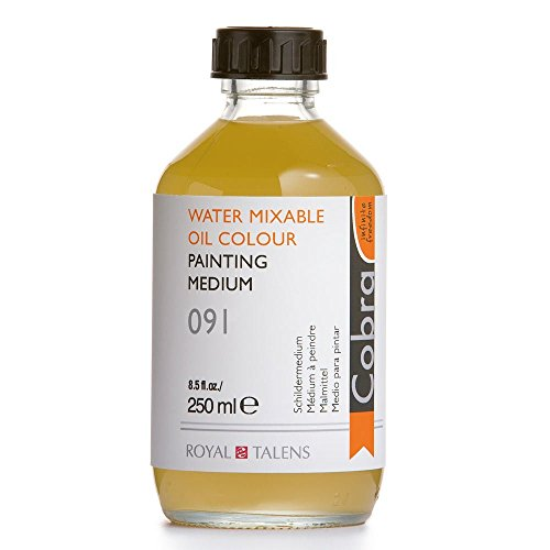 Cobra-W/M (médium pour peinture à l'huile 250 ml
