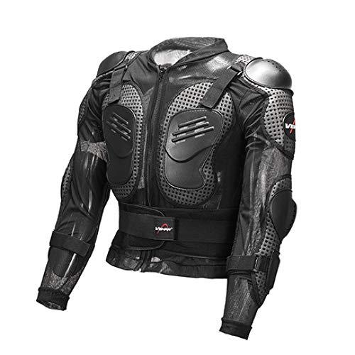 BUG-L Motocross-Rüstung Kleidung, Ritterausrüstung Lokomotive Racing Shatter-Resistant Clothing Shatter-Resistant Clothing Herren Brustschutz Rüstung