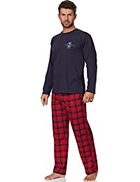Cornette Ensemble Pyjama Homme CR-124-Fire-Dept