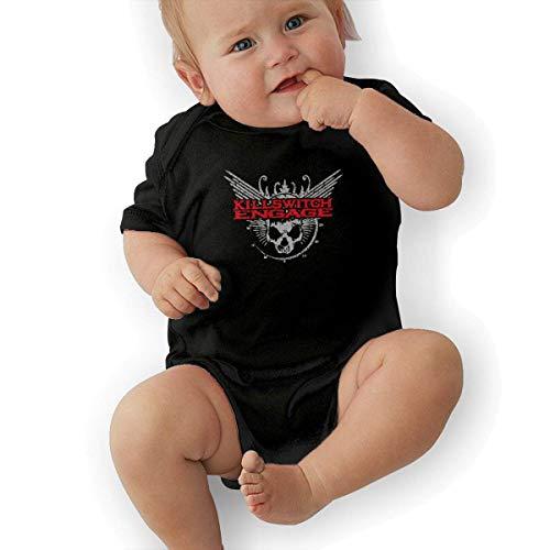 Bodys & Einteiler,Babybekleidung, Baby one-Piece Suit,Baby Jumper,Pajamas, Short Sleeve Bodysuit, Killswitch Engage Logo Best Baby Bodysuit Baby Clothes (Little Einstein T-shirt)