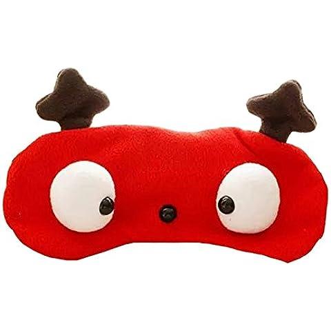 Hualing dormir máscara de ojo venda sombra viajes ayuda para elástica cinta para la cabeza
