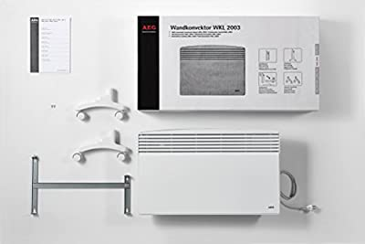 AEG WKL F Stand- und Wandkonvektor, Heizung für Bad, Hobbyraum von EG Haustechnik - Heizstrahler Onlineshop