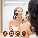 Elfeland Spiegelleuchte Spiegellampe Mirror Light Schminkleuchte Schminklicht 6500K 5W Dimmbar Badlampe Badleuchte Schrankleuchte für Badezimmer...