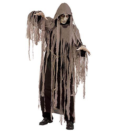 lopollg Halloween Kostüm Maskerade Horror Qing Dynastie Zombie Kostüm Zombie Tod Kleidung Ghost - Dynastie Kostüm