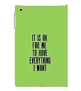 PrintVisa Designer Back Case Cover for Apple iPad Mini 2 :: Apple iPad Mini 2 Wi-Fi + Cellular (3G/LTE); Apple iPad Mini 2 Wi-Fi (Wi-Fi, w/o GPS) (Quote Love Heart Messages Crazy Express Sorry )