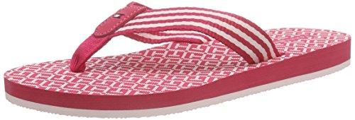 Tommy Hilfiger M1285ONICA 34D, Flip Flops Femme Rose (Pink Spice 660)