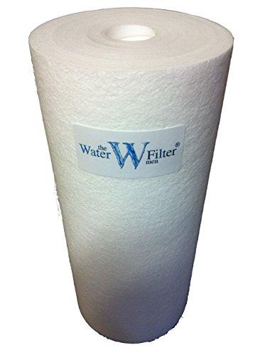 25,4cm Jumbo Sediment Wasserfilter Kartusche 1Micron Wasser Filter (25,4x 11,4cm) für Sediment und Lime Filtration (Umkehrosmose/Wasser Fed-Pole/Hard gut Wasser Behandlung)