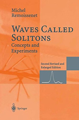 WAVES CALLED SOLITONS. : CONCEPTS AND EXPERIMENTS