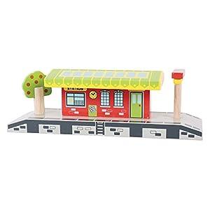 Bigjigs - Apeadero para modelismo ferroviario (BIBJT190)