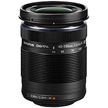 Olympus M.Zuiko Digital - Objetivo para micro cuatro tercios (distancia focal 40-150 mm, apertura f/4.0-5.6 R, zoom óptico 3.8x, diámetro: 58 mm) color negro