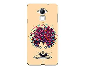 Kaira brand Designer Back Case Cover for Coolpad Note 3 (Butterfly Head)