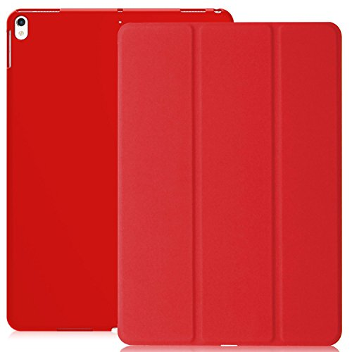 KHOMO iPad Air 3 10.5 (2019) / iPad Pro 10.5 (2017) Case Hülle, Gehäuse mit Doppeltem Schutz Ultra Dunn und Super Leicht Smart Cover Schutzhülle - Rot (Case 2 Smart Apple Ipad Rot)