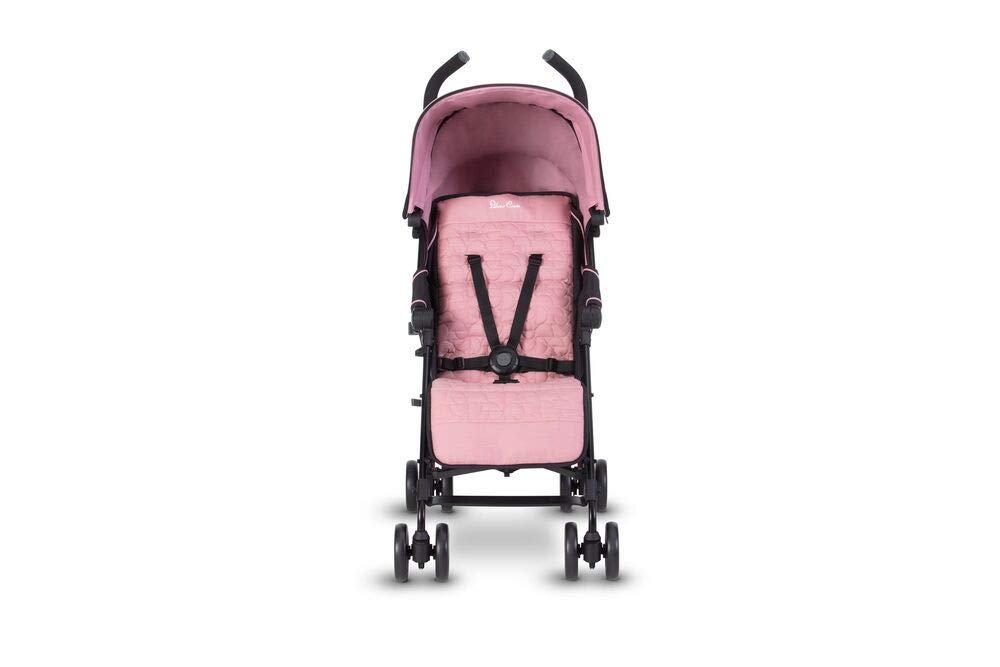 Silver Cross Zest Powder Pink Silver Cross Ultra lightweight zest pushchair, weighing in at only 5.8kg, is suitable from birth up to 25kg It has a convenient one-hand fold, while the compact design makes it easy to store The fully lie-flat recline is best in its class 4