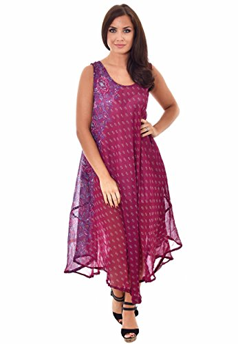 Nightingale Collection - Robe - Femme Rose Rose Taille Unique Rose - Cerise