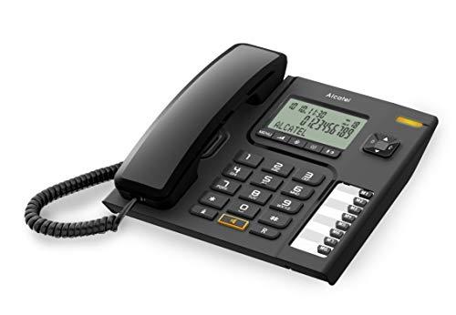 Oferta de Alcatel T76 - Teléfono de sobremesa (inalámbrico, Manos Libres) Color Negro