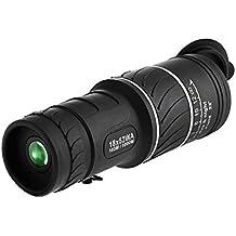 Monocular Zoom 18 x 52mm Óptico de Cristal de Bario y Dual HD Lentes de Enfoque para Montaña Caza Pesca Golf
