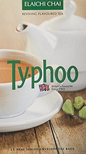 Typhoo Elaichi (Cardamom) Tea 25 Tea Bags