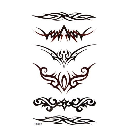 King Horse Belle tatouage personnalisé autocollant de tatouage autocollant de mode totem étanche sexy