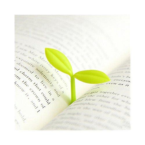 Lesezeichen Sprosse, Bookmark Sprout, Set mit 4 Stück