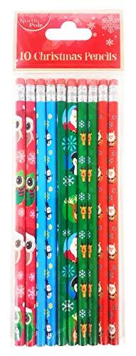 Weihnachtsstifte für Kinder, Schreibwaren, Radiergummi, ()