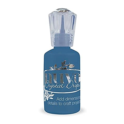 Nuvo by Tonic Studios Crystal Drops 3D Glue, Midnight Blue