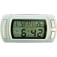 Carpoint 1023415 - Reloj con calendario y termómetro
