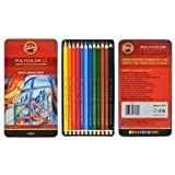 Koh-i-noor Polycolor 12 Artists' Colored Pencils. 3822 by Koh-I-Noor