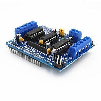 L293D Motorsteuerung Schild Motorantrieb Expansion Board für Arduino - blau