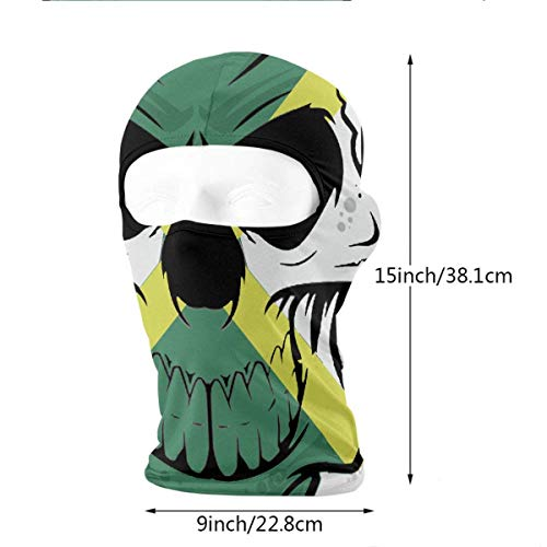 Imagen de liulishuan jamaican flag skull.png outdoor ski face mask motorcycle bike breathable full face mask men and women balaclava hood hat fashion20 alternativa