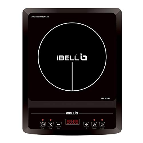 iBELL Glass Induction Cooktop Cloud 850Y with Auto Shut Off and over Heat Protection (Black, 2000 W)