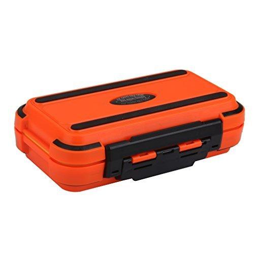 Caja con 24 compartimientos para pesca para guardar señuelos, cebos y ganchos