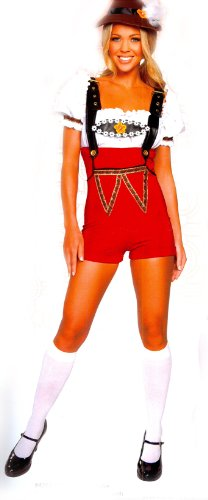 y dress costume Small / Medium (Beer Stein Babe Kostüm)
