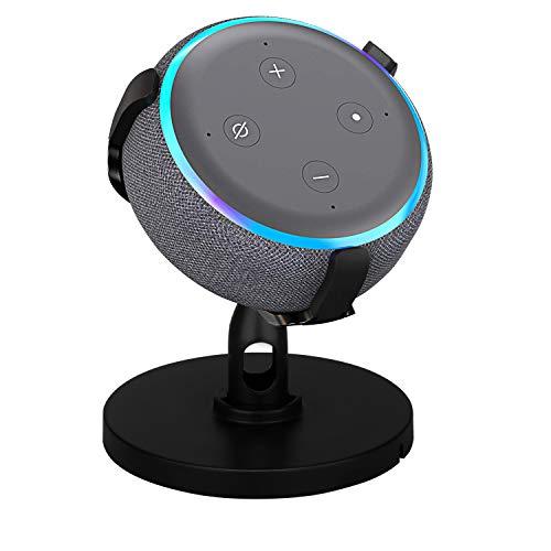 Tischhalterung für Dot 3rd Generation, Timorn 360 ° verstellbare Lautsprecher Ständer Halterung mit Gummischutz, Zubehör Halter Kompatibel mit Dot 3 für einen volleren Klang