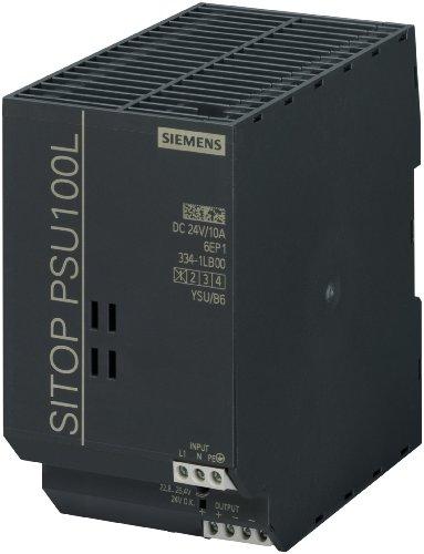 SIEMENS SITOP POWER - FUENTE ALIMENTACION SITOP PSU100L 24V/10A 120-230V