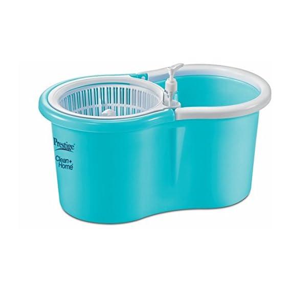 Prestige PSB 01 Deluxe Plastic Clean Home Magic Mop (Blue)