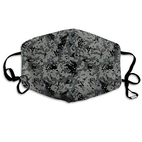 Unisex-Staubmaske-Schnee-Moore Camo Grey Mundmaske Gesichtskleidung Anti-Verschmutzung Outdoor-Maske Aktivitäten Warm winddicht Gesichtsmasken Multicolor11 -