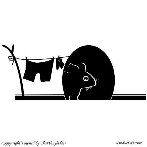 Mouse, topo, Mause foro (39 x 15 cm, per bagno,