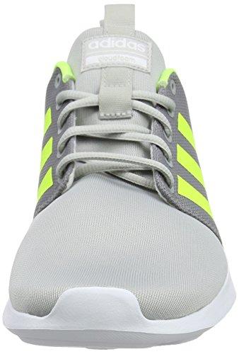 adidas Herren Cloudfoam Swift Racer Gymnastikschuhe Grau (Grey Two/solar Yellow/footwear White 0)
