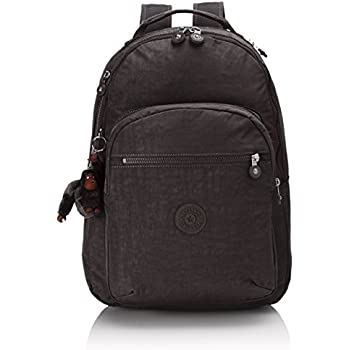 01d4d3d24 Kipling Clas Seoul, Large backpack, 45 cm, 25 liters, Black (True Black)