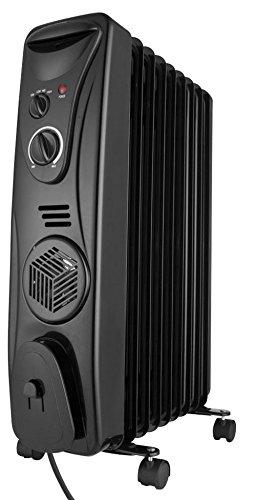Usha OFR 3509FB 2000-Watt Oil Filled Radiator (Black)