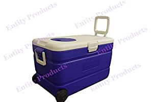 Entity Products 60L wheeled cool box with ice box. Especially popular with camping, caravan using and outdoors