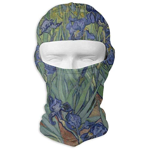 Vidmkeo Flower and Red Cat Full Face Masks UV Balaclava Hood Ski Mask Motorcycle Neck Warmer Tactical Hood for Cycling Outdoor Sports Snowboard Multicolor18