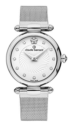 Claude Bernard Women's Quartz Analogue Watch Dress Code 20500 3 APN2