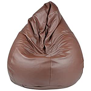 Galaxy Decorz Galaxy Decors Classic Brown Bean Bag Xxx-Large With Fillers