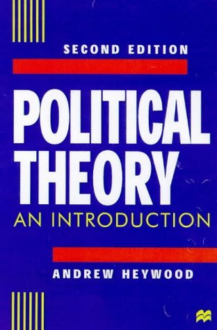 Portada del libro By Andrew Heywood - Political Theory: An Introduction (2nd Revised edition)