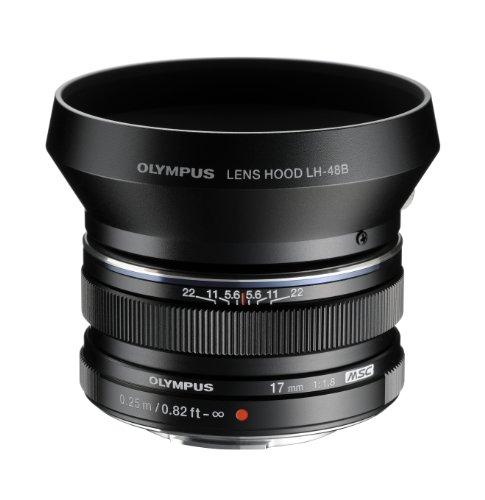 Olympus LH-48B - Tapa de objetivo para M.Zuiko Digital, negro