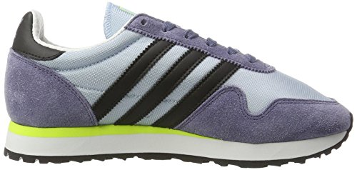 Adidas Unisex-erwachsene Haven Sneaker Low Hals Blau (easy Blue / Core Black / Solar Yellow)