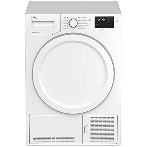 Beko DHY7340W 7Kg Heat Pump Tumble Dryer in White