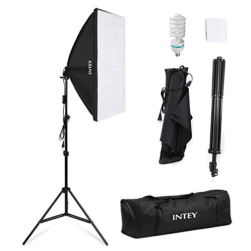 Intey Softbox Iluminacion Kit Fotografia Luz Continua