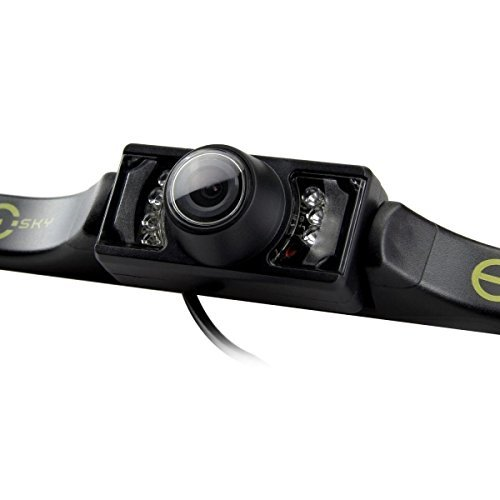 eskyr-videocamera-da-targa-hd-cmos-a-colori-420tvl-7-led-ir-visione-notturna-con-angolo-di-visuale-a